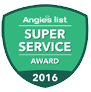 Angie's List Super Service Award 2012